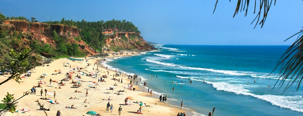 Important Tourist Places in Varkala Beach